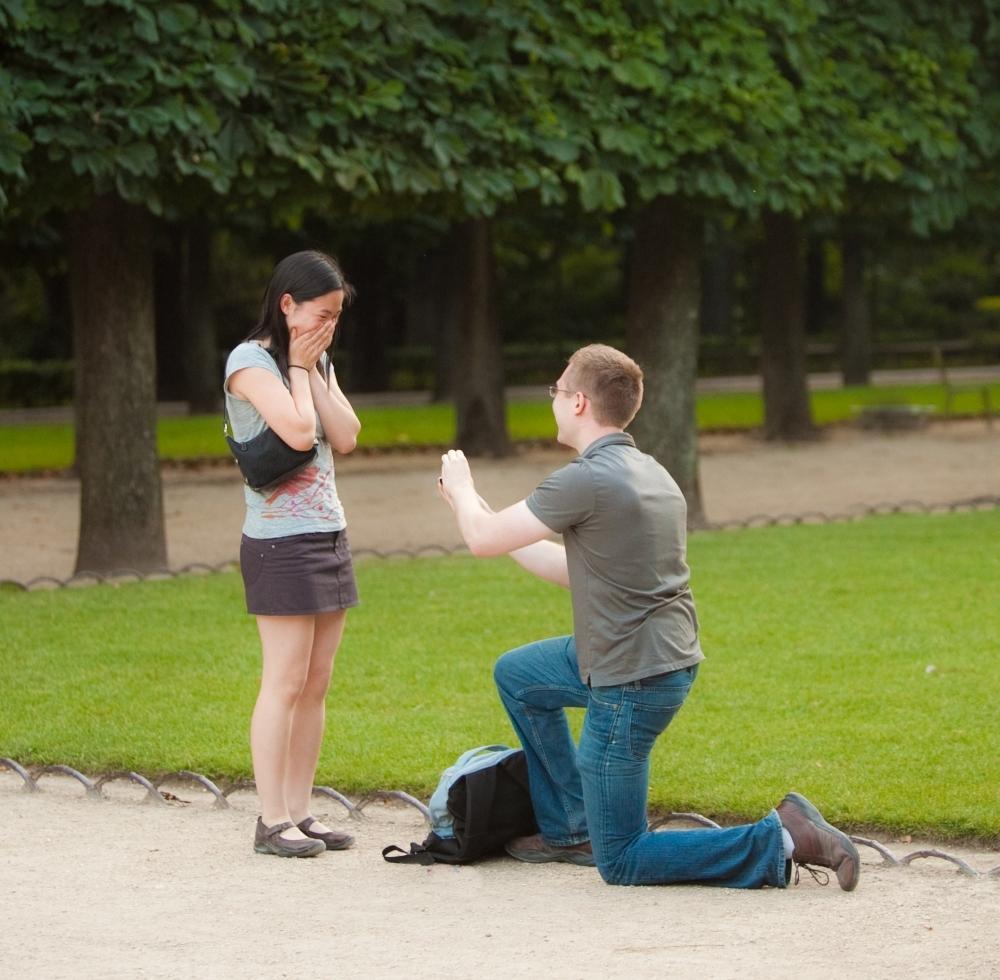 surprises demande mariage