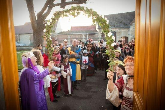 mariage chteau daramont verberie ceremonie invites - Chateau D Aramont Verberie Mariage