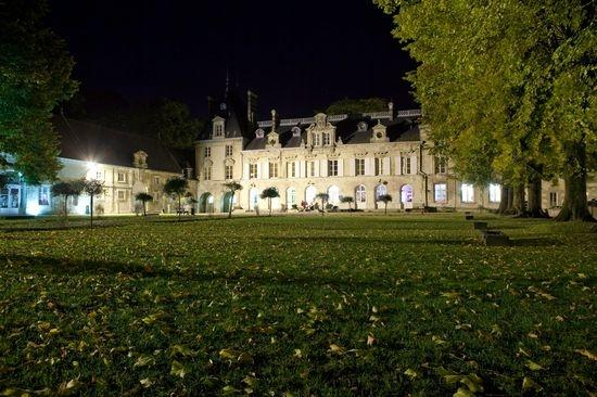 mariage chteau daramont verberie nuit paysage - Chateau D Aramont Verberie Mariage