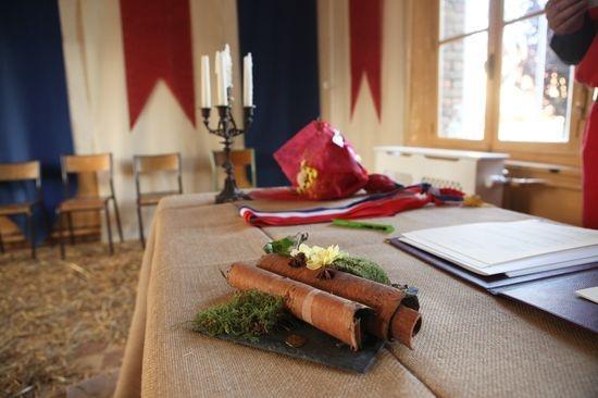 mariage chteau daramont verberie ceremonie - Chateau D Aramont Verberie Mariage