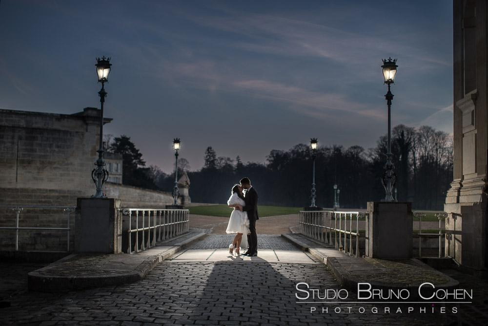 photo de mariage chateau de chantilly
